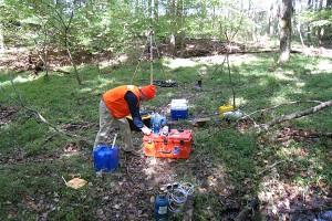Watershed Sampling; Fair Hill, MD