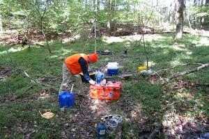 Watershed Sampling; Fair Hill, MD